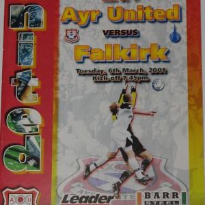ayr united v falkirk 2001