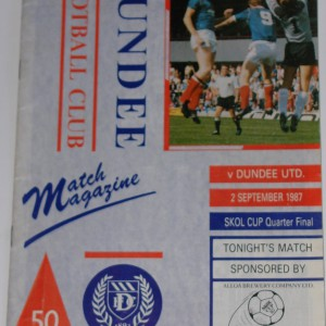 dundee v dundee united 1987 sept