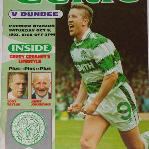 celtic v dundee 1993