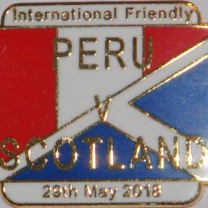 peru v scotland badge