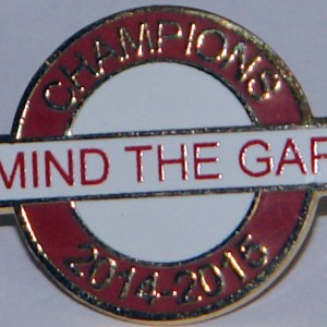 mind the gap badge