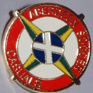 aberdeen casuals badge