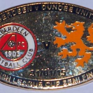 aberdeenn v dundee united badge