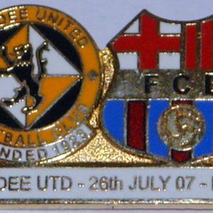 dundee united barcelona badge