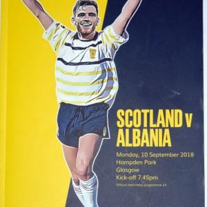 scotland v albania programme