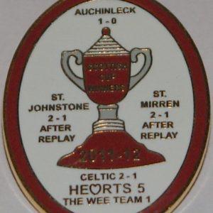 hearts scottish cup winners badge
