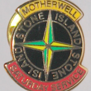 motherwell service badge