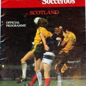 australia v scotland programme