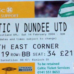 celtic v united