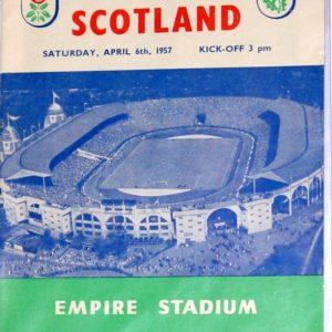 england v scotland 1957