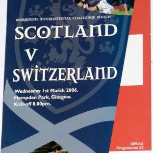 scotland v switzerland 2006