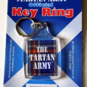 tartan army key ring
