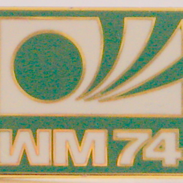 74 world cup badge