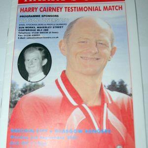 brechin city v rangers harry cairney testimonial