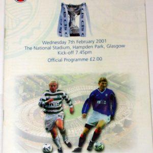 celtic v rangers 2001 cup