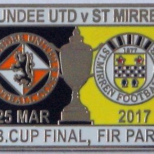 dundee united v st mirren 2017 badge