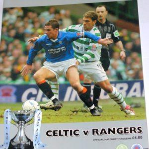 celtic v rangers 2003 large programme
