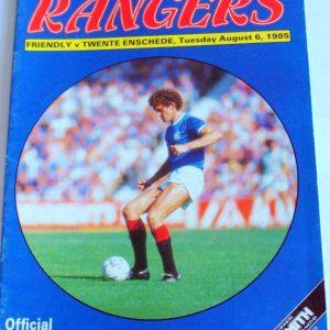 rangers v twente 1985