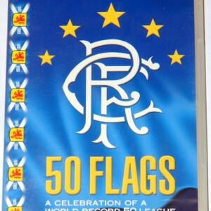 rangers 50 flags dvd