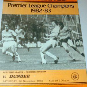 united v dundee 83
