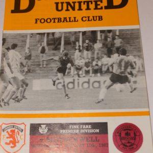 united v motherwell 1987