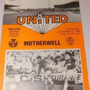 united v motherwell 85