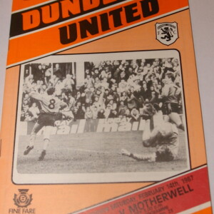 united v motherwell 87