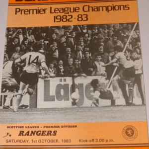 united v rangers 1983