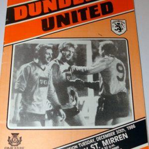 united v st mirren 1986 dec