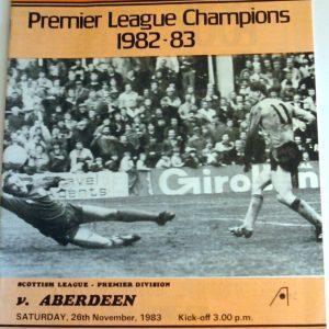 united v aberdeen 1983 nov