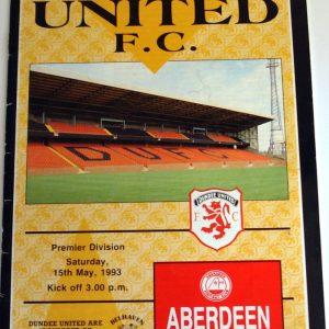 united v aberdeen 1993 may