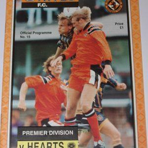 united v hearts 1994 january