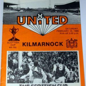 united v kilmarnock 1986 feb