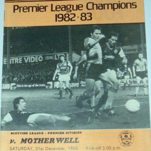 united v motherwell 1983 dec