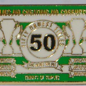 celtic 50 titles badge
