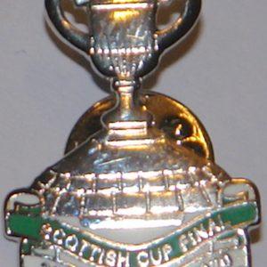 celtic v hearts 2020 sscottish cup badge